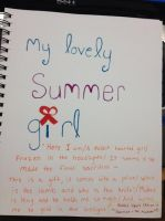 My lovely summer girl and Florence and the Machine by fuffa13