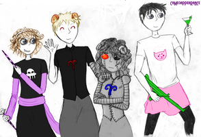 Fallen London OCs: Delicious Homestucks by CameoAppearance