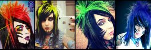 All the Dahvie-ness of the Rainbow by LittleWolfGurl