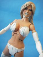 Custom Marvel Legends Emma Frost White Queen by cusT0M