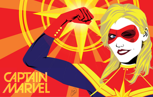 Captain Marvel by channandeller