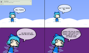 ICE CREAM by ask-cirno-the-genius