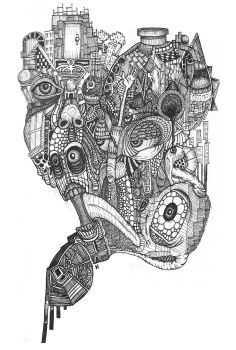 Brain's Mechanical Bouquet by DaveCurtis