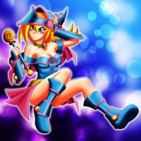 Dark Magician Girl by bogofp