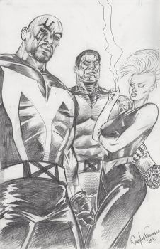 X-Men 2017 Pencil drawing by RNABrandEnt
