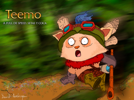 Teemo by davilo1996