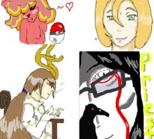 Iscribble dump by Maivory