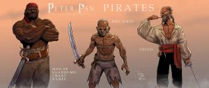 Peter Pan: Pirates Character Tag by RenaeDeLiz