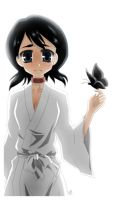 BLEACH: Rukia by Michiko-GO