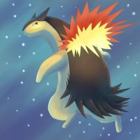 typhlosion by Emberius