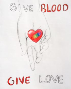 Give Blood by DaunaKate