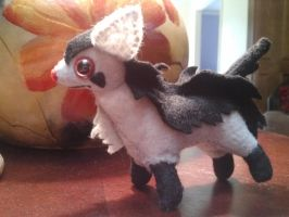 Simplified Mightyena Plush by Vulpes-Canis