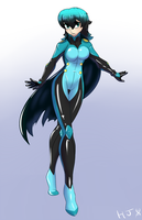 Plugsuit Teal by HelixJack