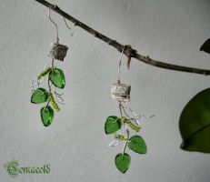 Birch Earrings by Comacold