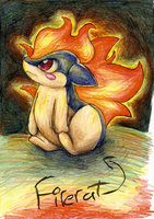 FireRat-Cyndaquil ripoff from PMH by PukingRainbow
