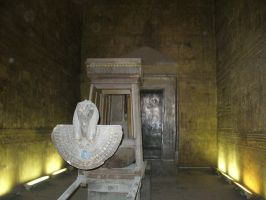 Horus Boat in Holiest Room by AndySerrano