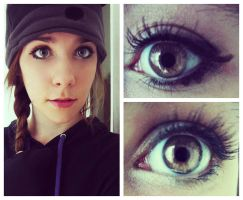 Natural Anime Eyes Collage by sdmoon