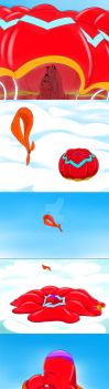 Balto - Your Parachute Is Beautiful, Jenna by trc001