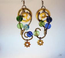 Steampunk earrings 10 by TheCraftsman
