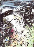 Dreaming Girl - Leafy by bugs-design