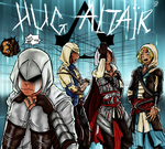 AC - Mission:Hug Altair by vampire100998