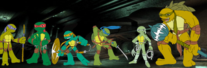 TMNT Roster by rougewindfield