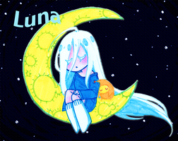 .+Luna The Sleeper Moon+. ADOPTABLE (SOLD) by MasterB0nesX