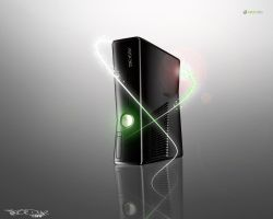 Abstract Xbox 360 S Wallpaper by redrum201