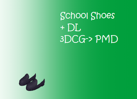 MMD: school shoes + DL by Chibi-Baka-San