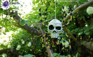 Wild Skulltula appears! - Sculpture by Escaron