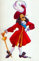 Captain James Hook by westernphilosopher