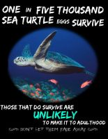 -Sea Turtle- by death-wishes