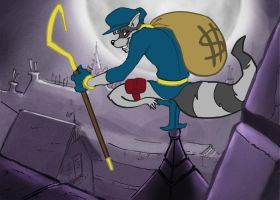 Sly Cooper by RedDyeNo5