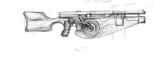 Capitol's Main Armed Forces Rifle by Michiragi