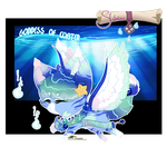 [CLOSED] Goddess of water Sloxou Auction by Miru-Studios