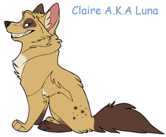 Claire Grinning by akrex