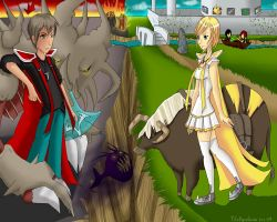 Runescape couples by Tifa-Amakura