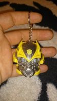Bumblebee's head Topper and Keychain 2 by OrochimaruXDD