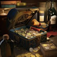 Treasure chest by selebriana
