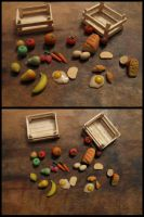 Miniature Food mix by Maylar