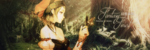 Banner of Fantasy Forest by Masamo