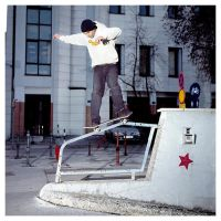 Ollie to 50-50 .. somehow by FotoKukec