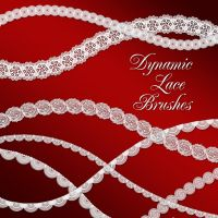 Dynamic Lace Brushes by merrypranxter