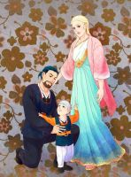 Altaire family photo! by Meibatsu