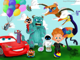 Pixar is Awesome by diegio1996