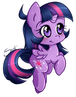 Chibi Twilight by secret-pony