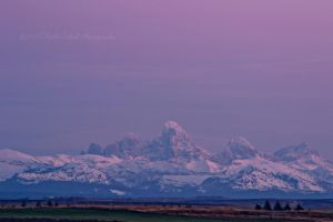 Teton Dusk by melly4260