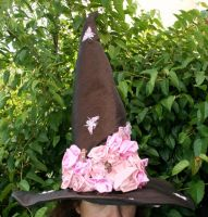 Bewitching Bees Witch Hat by mermaidencreations