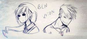 Ben and Kato by Spilred