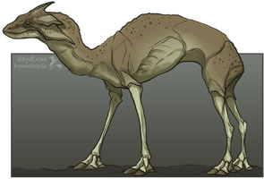 Reptilian-Camel-Type-Thing by Hymnsie